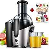 Juicer, Aicok Professional 75mm Wide Mouth Juicer Extractor Whole...