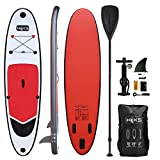 HIKS Products Unisex's HIKS Red 10ft / 3m Stand SUP Board Set Inc...