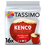 Tassimo Kenco Americano Smooth Coffee Pods (Pack of 5, Total 80...