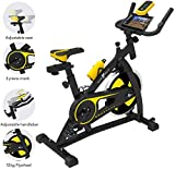 Nero Sports Upright Exercise Bike Indoor Studio Cycles Aerobic...