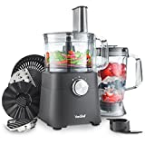 VonShef 750W Food Processor - Blender, Chopper, Multi Mixer...
