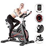 Tribesigns Indoor Cycling Exercise Bike, Super Mute Spinning Bike...