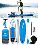 10FT Inflatable SUP Stand Up Paddle Board (6' Thick, 31' Wide) -...