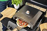 La Hacienda 56294 BBQ Pizza Oven Stainles Outdoor Heating,...