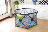 Callowesse® Pop Up and Play Playpen - Portable Secure Easy Fold...