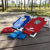 Blossomer Cornhole Set Cornhole Boards Throwing Game Children...