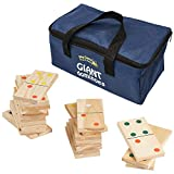Giant Wooden Dominoes in a Storage Bag from Big Game Hunters