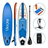 Uenjoy Inflatable Sup 10'30'x6' All Around Paddle Board, W/Full...