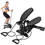 DACHUANG Exercise Stepper, Mini Aerobic Stepper with Display,...