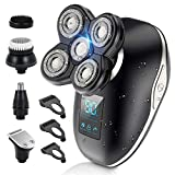 Electric Head Shavers for Bald Men, 5 in 1 Head Shavers for Men...