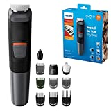 Philips 11-in-1 All-In-One Trimmer, Series 5000 Grooming Kit for...
