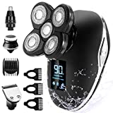 OriHea Electric Head Shavers for Men, 5 in 1 Wet and Dry Electric...