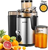 Juicer Aicok Juicers Whole Fruit and Vegetable Easy Clean, 3...