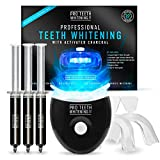 Premium Teeth Whitening Kit with Activated Charcoal - Blue...