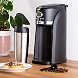 Bean to Cup Coffee Maker with On The Go Travel Mug   Automatic...