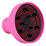 Silicone Hairdryer Diffuser Folding Hair Blower Professional...