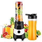 Portable Blender & Smoothie Maker Personal Mini Blender Electric...