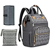 Changing Bag Backpack-BABEYER Large Maternity Nappy Bags Rucksack...