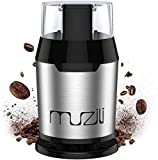 Muzili Electric Coffee Grinder, Beans, Nuts and Grains Grinder...
