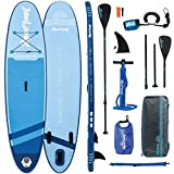 AQUAPLANET ALLROUND TEN SUP Inflatable Stand Up Paddle Board Kit...