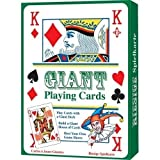 Large Giant A4 Playing Cards Party Games Gameshow