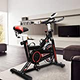 Hooseng Exercise Bike Indoor Cycling Stationary Bikes Cardio...