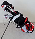 Boys Right Handed Junior Golf Club Set with Stand Bag for Kids...