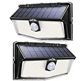 300 LED Solar Lights Outdoor, LITOM Solar Motion Sensor Security...