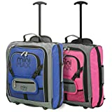 MiniMax Childrens/Kids Luggage Carry On Trolley Suitcase with...