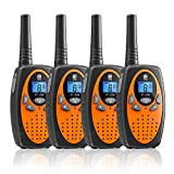 Walkie Talkies,Two Way Radio PMR446 16 Channels VOX Scan with 3...