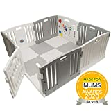 Venture All Stars DUO Plastic Baby Playpen With Play Mats