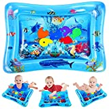 VATOS Kid Inflatable Tummy Time Water Play Mat Toys for Infants &...