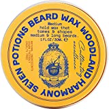 Seven Potions Beard Wax for Men — Medium Hold Styling Wax to...