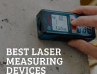 laser measuring device