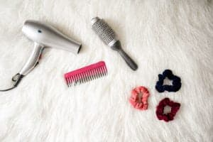 how to use hair brush dryer