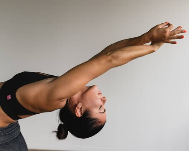 yoga at home exercise