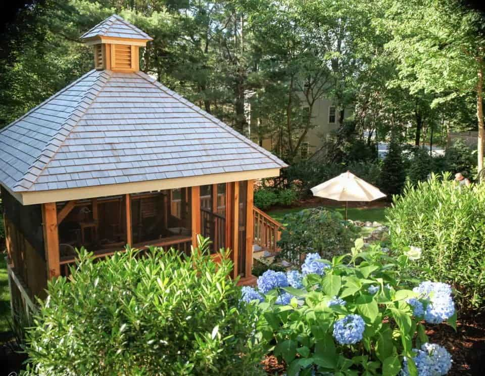 covered gazebo ideas