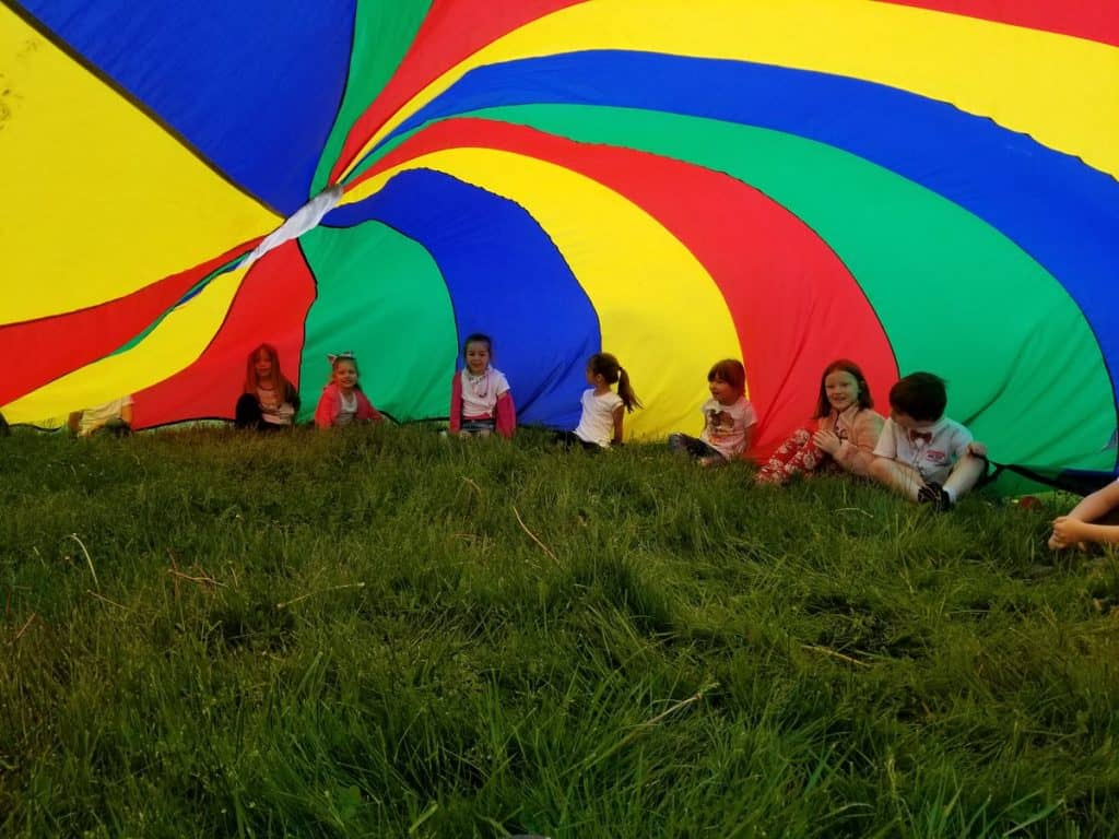 best parachute games for kids