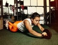 How to get started exercising at home